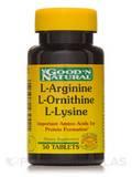 L-Arginine/L-Ornithine/L-Lysine 50 Tablets