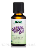 NOW® Organic Essential Oils - Lavender Oil - 1 fl. oz (30 ml)