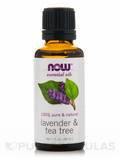 NOW® Essential Oils - Lavender & Tea Tree Oil - 1 fl. oz (30 ml)