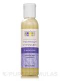 Lavender Aromatherapy Massage Cream 4 fl. oz (118 ml)