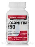 L-Carnitine 250 mg 100 Vegetarian Capsules