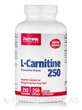 L-Carnitine 250 mg 250 Vegetarian Capsules