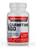 L-Carnitine 500 mg 100 Vegetarian Capsules
