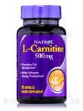 L-Carnitine 500 mg - 30 Capsules