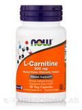 L-Carnitine 500 mg - 30 Veg Capsules