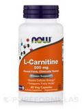 L-Carnitine 500 mg - 60 Veg Capsules