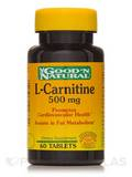 L-Carnitine 500 mg (as L-Carnitine L-Tartrate) 60 Tablets