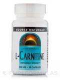 L-Carnitine Caps 500 mg 30 Capsules