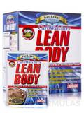 LEAN BODY Carb Watchers MRP Chocolate Ice Cream - 20 Packets (2.29 oz / 65 Grams Each)