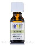 Lemon Essential Oil (Citrus x limon) 0.5 fl. oz (15 ml)