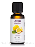 NOW® Essential Oils - Lemon Oil - 1 fl. oz (30 ml)