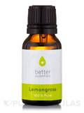 Lemongrass Essential Oil (Cymbopogon flexuosus) - 15 ml