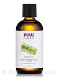 NOW® Essential Oils - Lemongrass Oil - 4 fl. oz (118 ml)