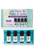 Let There Be Peace & Quiet, Relaxing Essential Oils Kit - 4 - 1/3 fl. oz (10 ml) Bottles