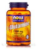 NOW® Sports - L-Glutamine 1500 mg - 90 Tablets