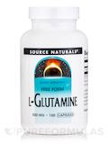 L-Glutamine 500 mg - 100 Capsules