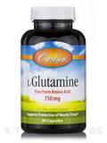 L-Glutamine 750 mg - 90 Capsules