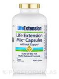 Life Extension Mix without Copper 490 Capsules