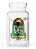 Life Force® Vegan Multiple No Iron - 60 Tablets