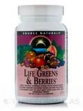 Life Greens & Berries Powder - 4 oz (113.4 Grams)