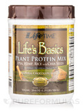 Life's Basics Plant Protein Mix, Natural Chocolate Flavor - 20.6 oz (584 Grams)
