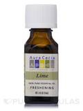 Lime Essential Oil (Citrus x aurantifolia) - 0.5 fl. oz (15 ml)