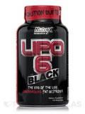 Lipo-6 Black - 120 Black-Caps