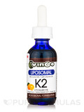 Liposomal K2 Complex, Orange Flavor - 2 fl. oz (60 ml)