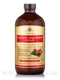 Liquid Calcium Magnesium Citrate with Vitamin D3- Natural Strawberry Flavor - 16 fl. oz (473 ml)