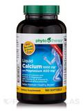 Liquid Calcium with Magnesium™ 1000 mg / 400 mg - 180 Softgels