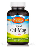 Liquid Cal-Mag 2:1 Ratio - 100 Soft Gels