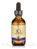 Liquid K2, Natural Vanilla Flavor - 1.8 fl. oz (53 ml)