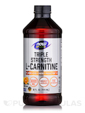 NOW® Sports - Liquid L-Carnitine (Citrus Flavor) 3000 mg - 16 fl. oz (473 ml)
