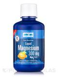 Liquid Magnesium Tangerine Flavor 300 mg - 16 fl. oz (473 ml)