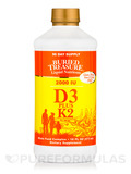 Liquid Vitamin D3 with K2 - 16 fl. oz (473 ml)