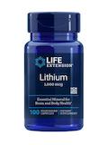 Lithium 1,000 mcg - 100 Vegetarian Capsules