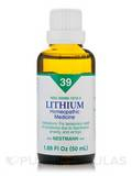 Lithium homeopathic liquid - small 1.69 oz (50 ml)