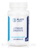 Lithium Orotate - 120 Capsules