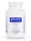 Lithium (Orotate) 5 mg 180 Capsules