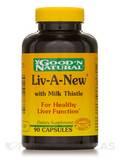 Liv-A-New® (Liver Formula) - 90 Capsules