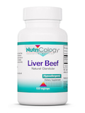 Liver Beef (Natural Glandular) - 125 Vegicaps