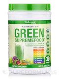Fermented Green SupremeFood, Apple - Cinnamon Flavor - 30 Servings (7.40 oz / 210 Grams)