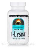 L-Lysine 1,000 mg - 100 Tablets