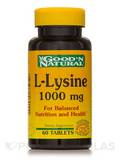 L-Lysine 1000 mg 60 Tablets