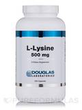 L-Lysine 500 mg - 250 Capsules