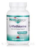L-Methionine (Free Form Amino Acid) - 100 Vegetarian Capsules