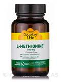 L-Methionine 500 with B-6 60 Tablets
