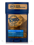Long Lasting Deodorant for Men, Mountain Spring - 2.25 oz (64 Grams)