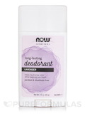 NOW® Solutions - Long-Lasting Deodorant Stick - Lavender - 2.2 oz (62 Grams)