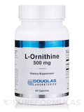 L-Ornithine 500 mg - 60 Capsules